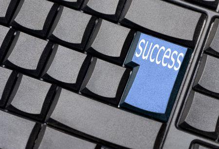 success computer key