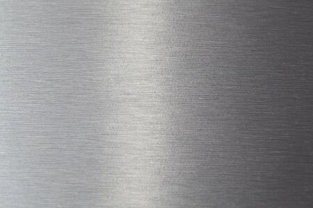 gray and silver colored Brushed metal texture Stock Photo