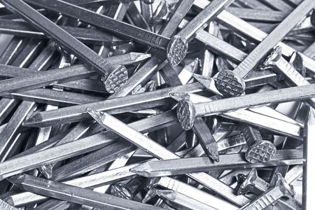 a nail background made of metal