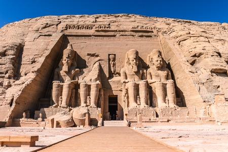 The Great Temple of Ramesses II, Abu Simbel, Egypt
