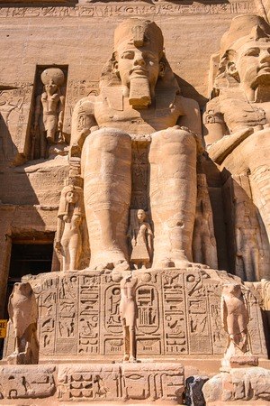Colossus of The Great Temple of Ramesses II, Abu Simbel, Egypt