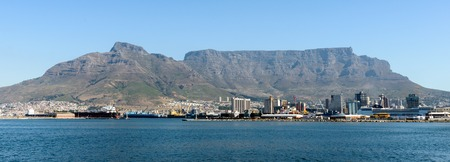 sea life centre: CAPE TOWN, SOUTH AFRICA - FEB 22, 2013: Panoramic view of Cape Town, South Africa. Cape town is the most popular international touristic destination in Africa