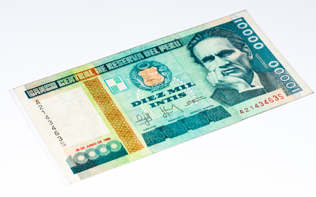 10000 intis bank note inti is the former currency of peru stock inti is the former currency of peru stock photo 61852050 thecheapjerseys Choice Image