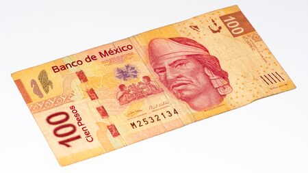 banknote: 100 Mexican pesos bank note made in 2007