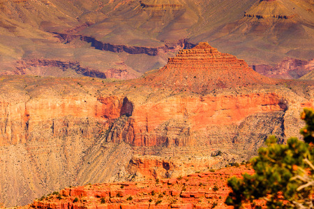 Grand Canyon, Arizona, USA. Canyon is carved by the Colorado River