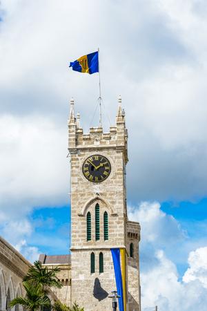 Clock tower of the Parliament Building, Bridgetown, Barbados