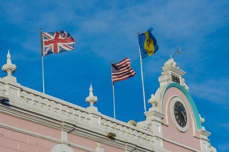 City hall of Bridge town, Barbados