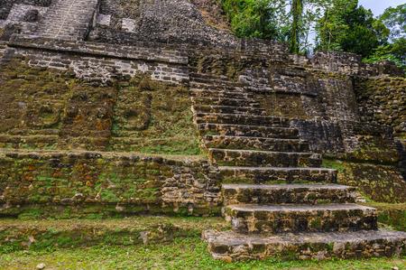 Xunantunich, an Ancient Mayan archaeological site in western Belize. Maya temple El Castillo