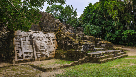 Rests of Maya civilization