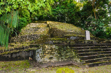 Maya civilization constructions in Belize