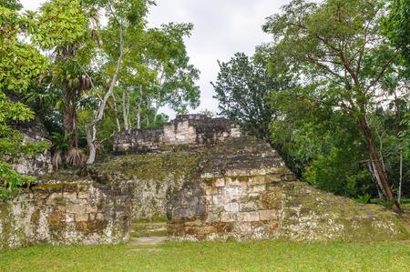 Mayan civilization architecture in Lost World (Mundo Perdido), Guatemala, South America
