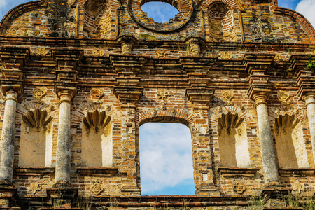 Ruins of the Old Panama. Banco de Imagens - 84336346