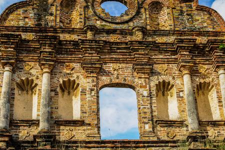 Ruins of the Old Panama. Reklamní fotografie - 84336346