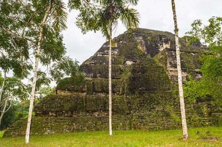 Part of Mayan city of Tikal, Mundo Perdido, Guatemala Stock Photo - 84204119