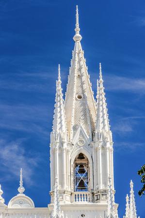 Tower of Santa Ana Cathedral, San Salvador, El Salvador