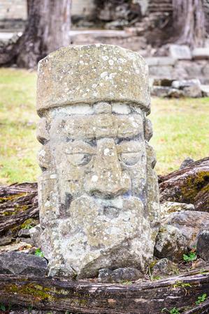 Copan, an archaeological site of the Maya civilization, Honduras Stock Photo