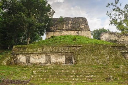 Nature on Maya civilization, Mundo Perdido, Guatemala Stock Photo - 84265528
