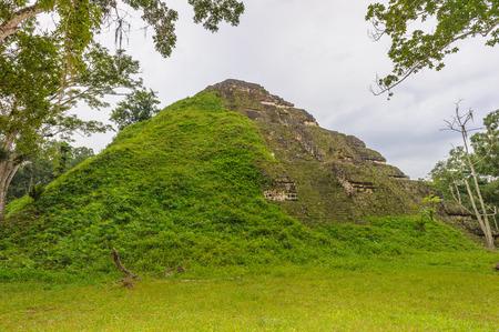Mayan Pyramid in Guademala