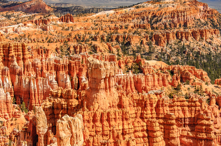 Spectacular view of the Bryce Canyon National park, Utah, USA Stock Photo
