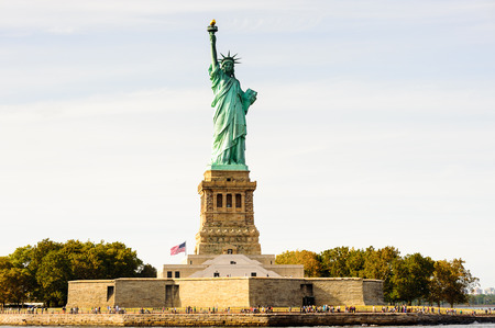 Statue of Liberty, New York city, United States of America Stok Fotoğraf - 84264513