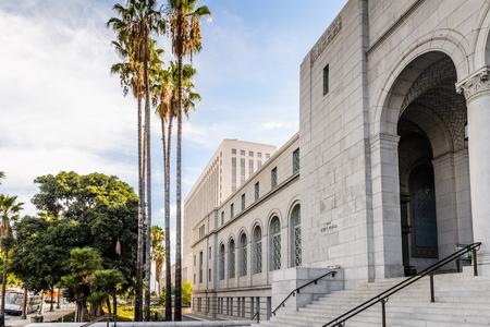 Los Angeles City Hall, Kalifornien. Das Gebäude wurde von John Parkinson, John C. Austin entworfen und wurde 1928 fertiggestellt Standard-Bild