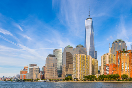 New World Trade center on the Lower Manhattan, New York City, United States of America