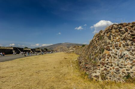 Teotihuacan was a pre-Columbian Mesoamerican city located in the Basin of Mexico, Mexico City