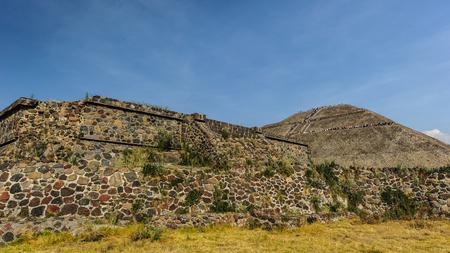 pre: Pre-Hispanic City of Teotihuacan Stock Photo