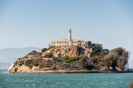 alcatraz: Alcatraz Island, location of the Alcatraz Federal Penitentiary, USA. It was a maximum high-security Federal prison from 1934 to 1963