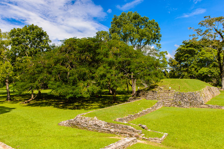 Nature of Palenque, was a pre-Columbian Maya civilization of Mesoamerica. Known as Lakamha (Big Water). UNESCO World Heritage
