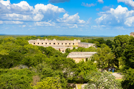 archaeological sites: Uxmal, an ancient Maya city of the classical period. One of the most important archaeological sites of Maya culture.