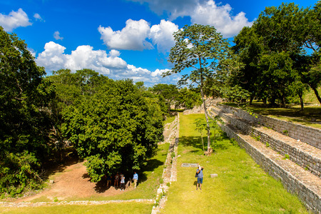 archaeological sites: Uxmal, an ancient Maya city of the classical period. One of the most important archaeological sites of Maya culture. UNESCO World Heritage site Stock Photo
