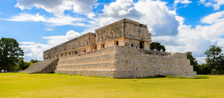 Governors Palace, Uxmal, an ancient Maya city of the classical period. One of the most important archaeological sites of Maya culture. UNESCO World Heritage site