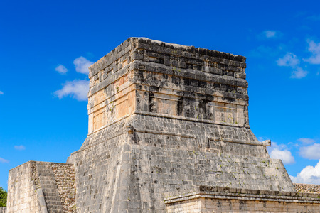Chichen Itza, Tinum Municipality, Yucatan State. It was a large pre-Columbian city built by the Maya people of the Terminal Classic period. UNESCO World Heritage Stock Photo