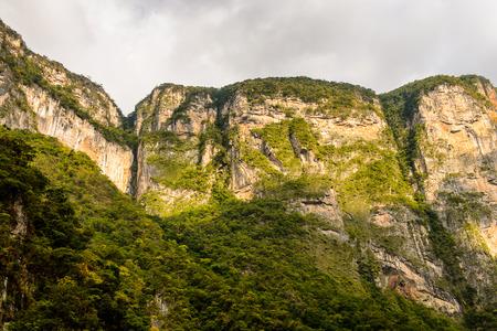 Sumidero Canyon, Chipas, Mexico.