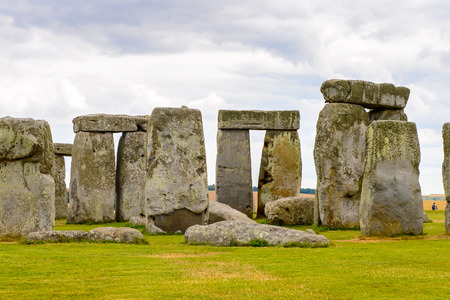 Stonehenge, a prehistoric monument in Wiltshire, England. UNESCO World Heritage Sites Reklamní fotografie - 84351565