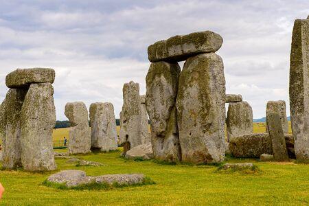 Stonehenge, a prehistoric monument in Wiltshire, England. UNESCO World Heritage Sites