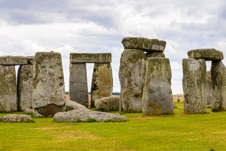 Stonehenge, a prehistoric monument in Wiltshire, England. UNESCO World Heritage Sites