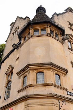 oxfordshire: Architecture of Oxford, England. Stock Photo