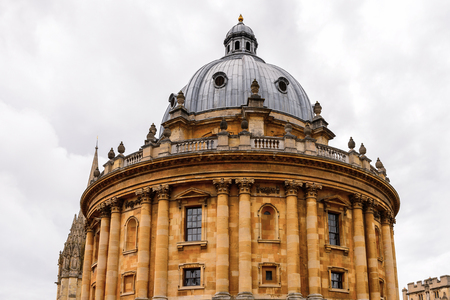 Radcliffe Camera, Oxford, England. Oxford is known as the home of the University of Oxford Stock Photo