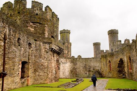 Conway Castle is a medieval fortification in Conwy, Wales, UNESCO World Heritage site