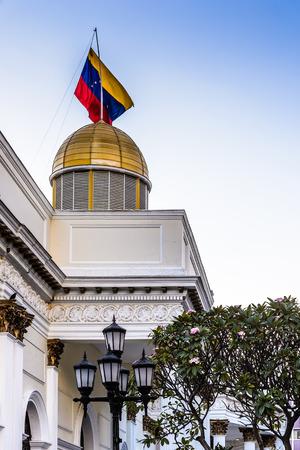 パラシオ自治体・ デ ・ カラカス (カラカスの都市宮殿) カラカス、ベネズエラの市庁舎 写真素材