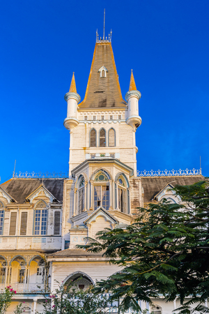 St. Georges Anglican Cathedral in Georgetown, capital of Guyana, South America