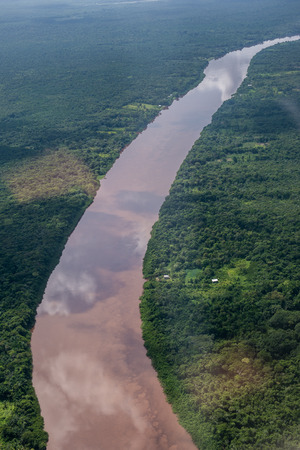 River and nature in Guyana, South America Stock Photo
