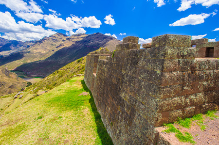 touristy: Mountain of Peru Stock Photo