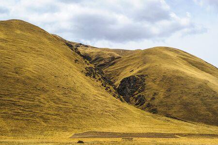 natue: Natue of Peru, Puno, mountains Stock Photo