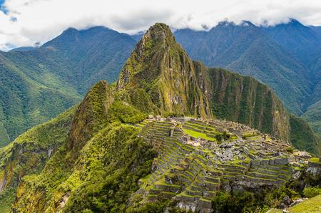 マチュピチュは、ペルーのクスコ県ウルバンバ州マチュピチュ地区。 写真素材 - 84654313