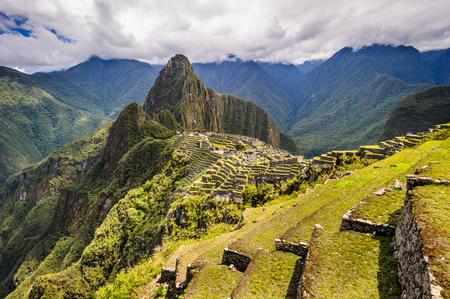 Machu Picchu, Cusco Region, Urubamba Province, Machupicchu District in Peru.