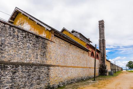 Prison in Saint Laurent du Maroni, French Guiana, South America Stock Photo