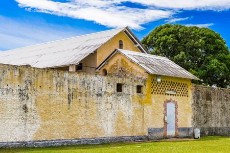 Quartier Special, Condemned mens block, Prison in Saint Laurent du Maroni, French Guiana, South America